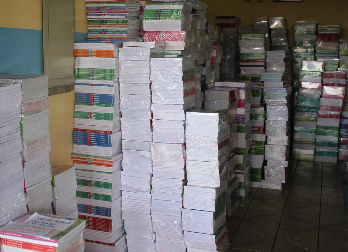 Livros didáticos são entregues para alunos das escolas em Parintins