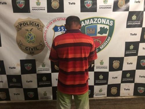 Em Tefé,  acusado por estuprar e engravidar as enteadas é preso