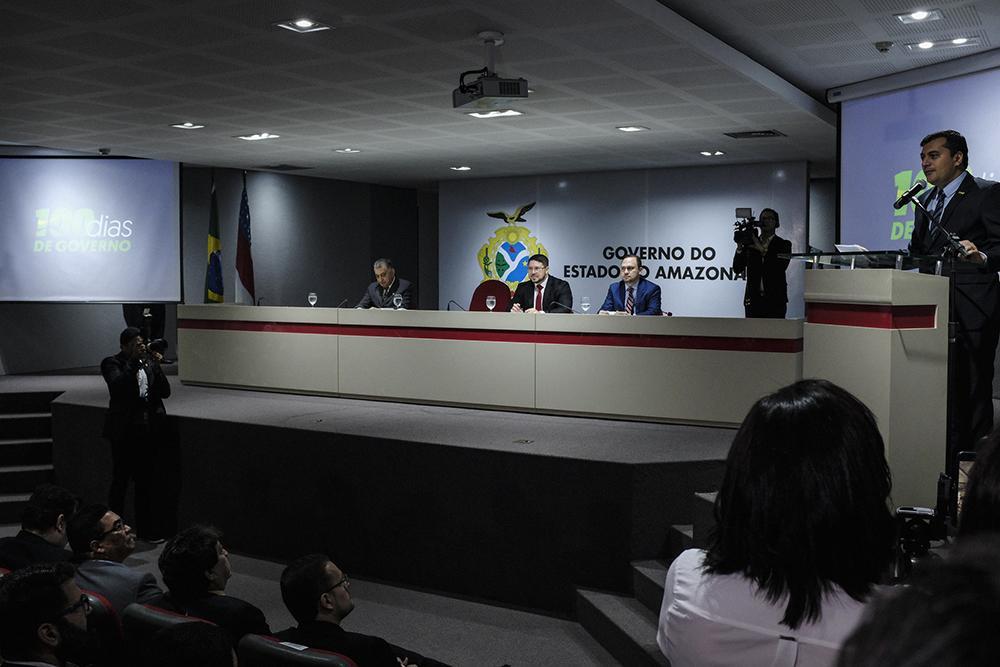 TJ-AM acompanha balanço dos cem primeiros dias de gestão de Wilson Lima