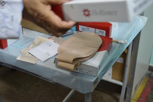 Susam avalia qualidade de bolsas de colostomia ofertadas pelo Estado
