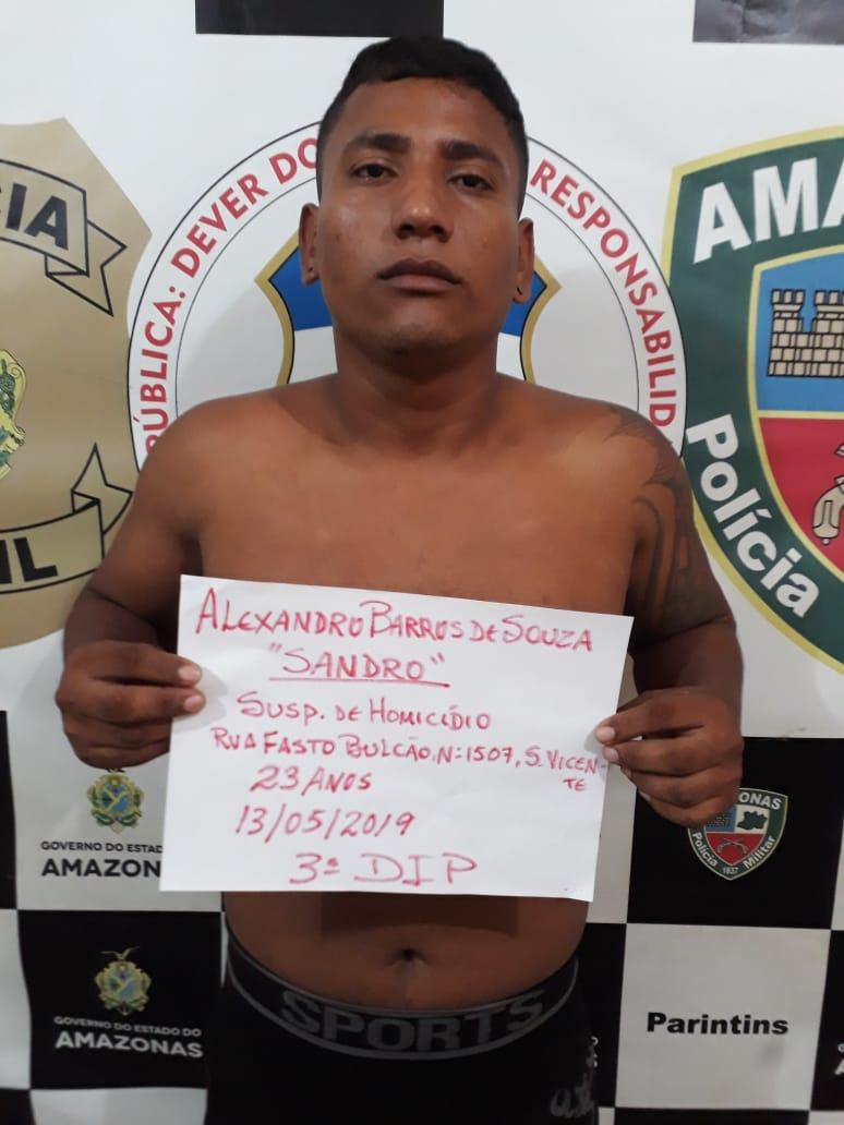 Polícias Militar e Civil prendem suspeito da morte de Hugo Dias