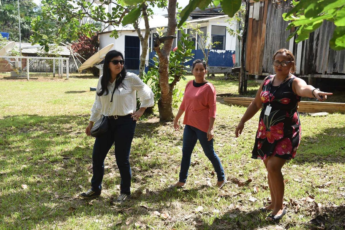 MP-AM avalia condições de escolas ribeirinhas na zona rural de Manaus