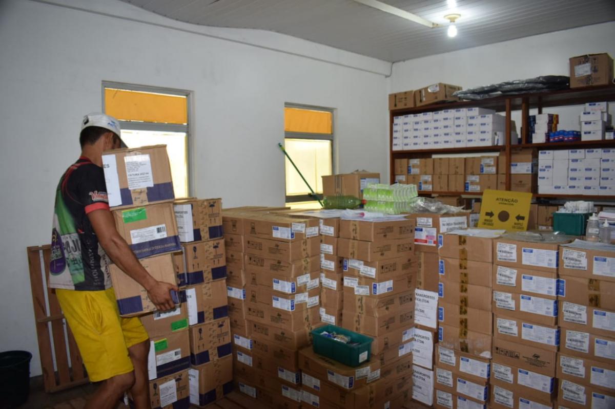 Prefeitura de Parintins recebe mais uma remessa de medicamentos