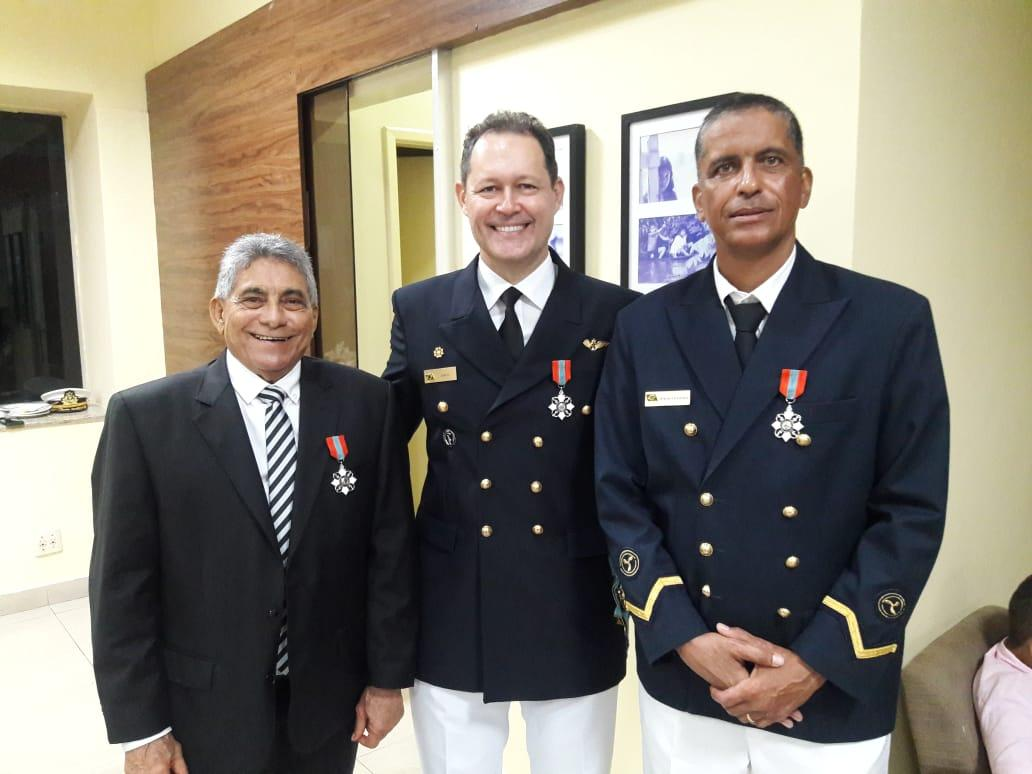 Militar da Agência Fluvial de Parintins recebe a Ordem do Mérito Naval