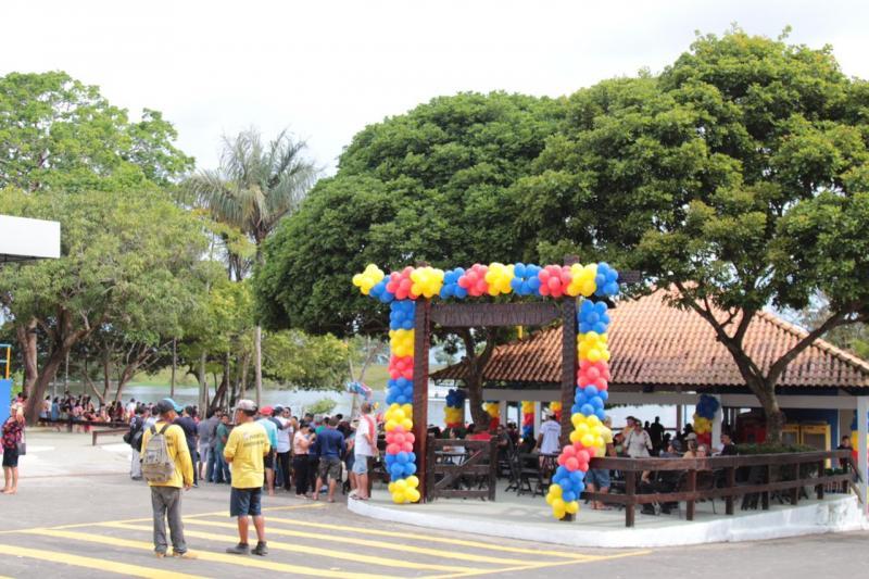 Balneário Cantagalo, no Aninga, foi totalmente repaginado e entregue à população