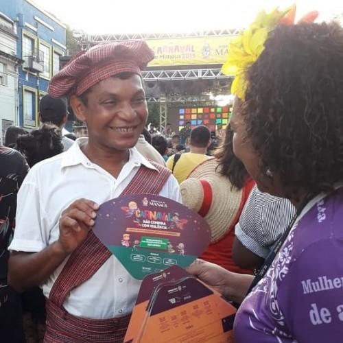 Sejusc promove atividades de conscientização em Parintins