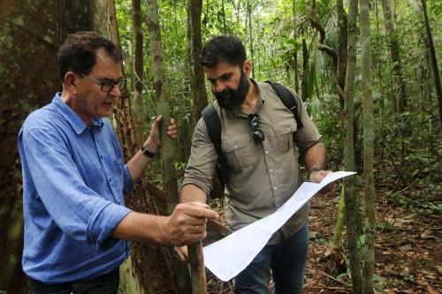 Ministro alemão visita reserva no Amazonas e destaca interesse do país em continuar investimentos na área ambiental