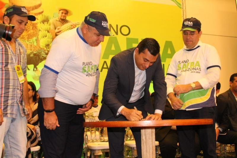 Wilson Lima lança Plano Safra 2019/2020, com recursos de R$ 350 milhões para produção rural