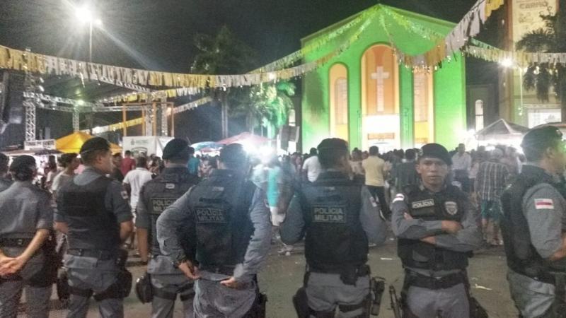 Polícia Militar garante segurança nos festejos de Nossa Senhora do Carmo, padroeira da Diocese de Parintins
