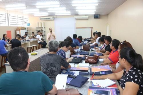 Em Manaus, professores da rede estadual participam de formação sobre Novo Ensino Médio