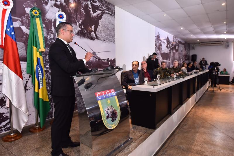 Josué Neto reitera a importância do CIGS para a defesa da Amazônia