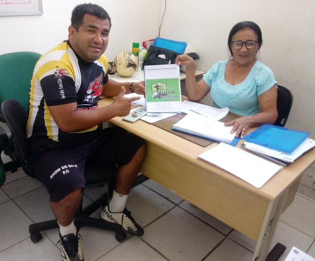 Liga Parintinense de Futsal ganha apoio da Prefeitura