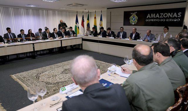 Presidente Josué Neto participa de reunião com comitiva ministerial