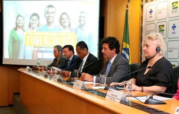 Brasil lidera estratégia de luta global contra a tuberculose