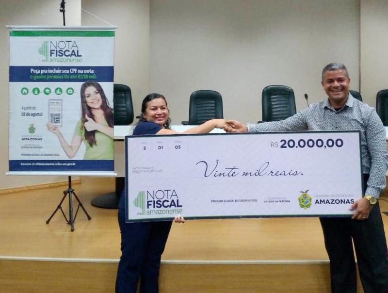 Nota Fiscal Amazonense sorteia R$ 100 mil reais nesta quarta (11)