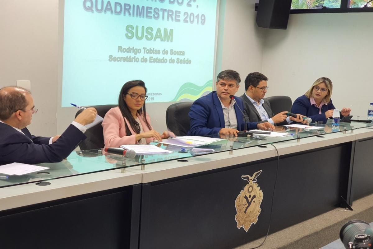 Relatório de ações da Susam entregue à ALE mostra avanços na saúde