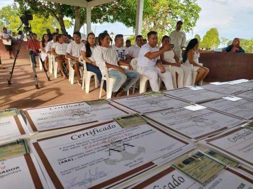 Moradores da RDS do Rio Negro são habilitados para conduzir embarcações na categoria Arrais Amador