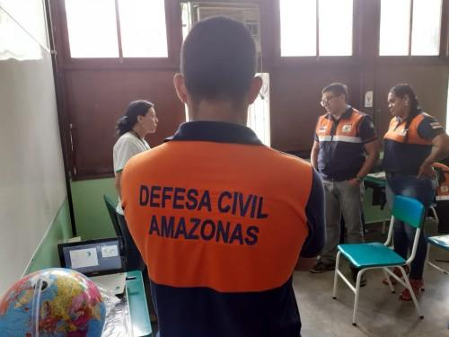 Parceria entre UEA e Defesa Civil do Amazonas promove curso de meteorologia
