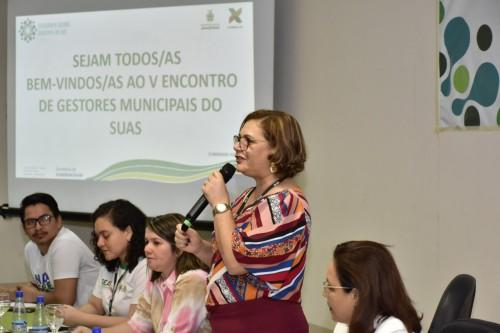 Seas reúne gestores municipais de 40 municípios para discutir o fortalecimento do Sistema Único de Assistência Social