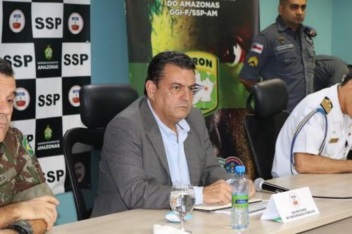 SSP-AM e Governo Federal discutem planos de ação para áreas fronteiriças