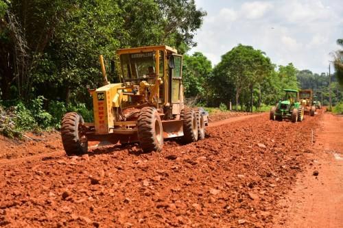 Governo do Amazonas investe na revitalização e construção de ramais no interior