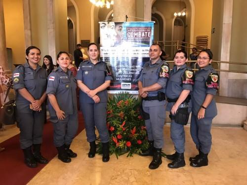 Ronda Maria da Penha, da Polícia Militar, participa de evento sobre o enfrentamento da violência doméstica e familiar