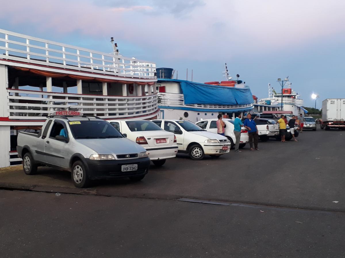 Marinha interdita terminal hidroviário de Parintins