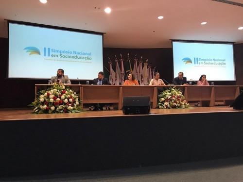 Sejusc apresenta sistema socioeducativo do AM em Simpósio Nacional
