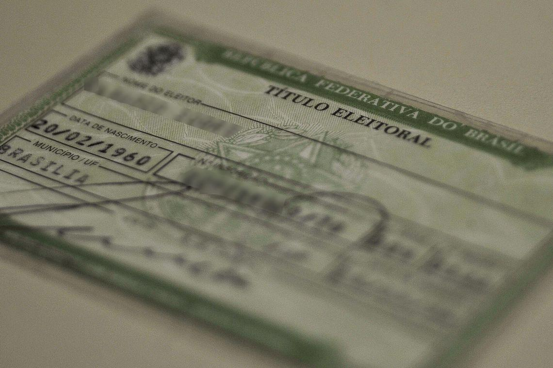Eleitores com mais de 70 anos precisam fazer a biometria