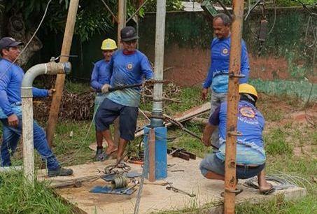 Jornalista protesta nas redes sociais contra escassez de água no Tonzinho Saunier