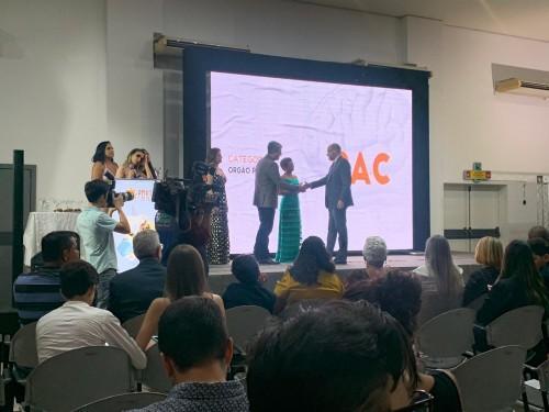 PAC recebe Prêmio Top Marketing Empresarial