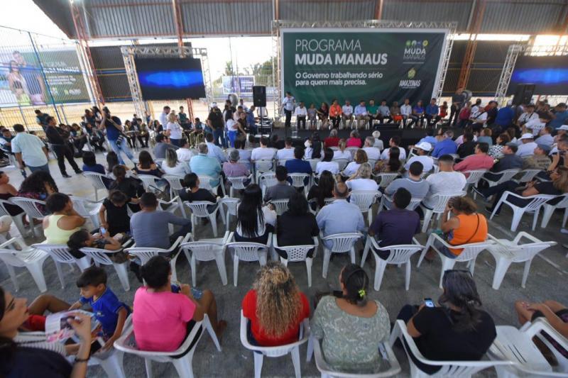 Primeira edição do programa Muda Manaus atende mais de 11 mil pessoas no Mutirão, em três dias