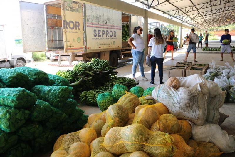 Sepror fará última entrega de alimentos em 2019, por meio do Programa de Aquisição de Alimentos