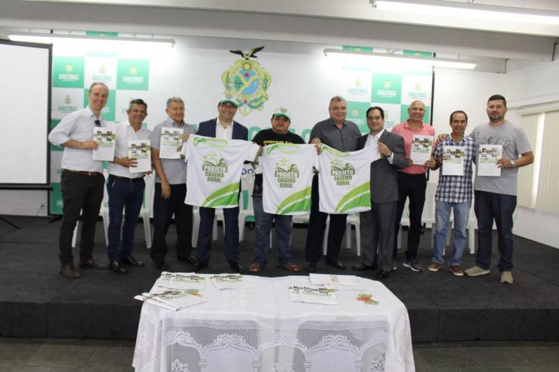 Sepror lança projeto 'Caseiro Rural' para capacitar trabalhadores do interior do Estado