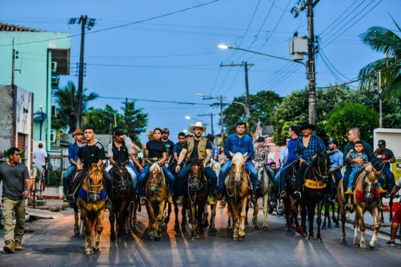 Wilson Lima destaca incentivo à pecuária na reinauguração do Parque de Exposições em Parintins