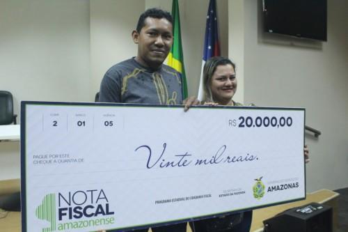 Nota Fiscal Amazonense sorteia R$ 50 mil nesta quarta-feira (15/01)