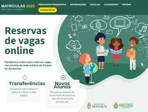 Escolas da rede pública recebem mais de 67 mil solicitações de novos alunos para o ano letivo 2020