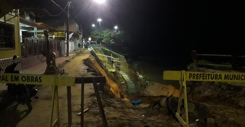 Em Parintins: operário tem corpo parcialmente soterrado após deslizamento de terra