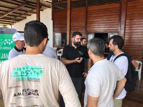 Comitiva do BNDES visita RDS do Uatumã para conhecer projetos apoiados pelo Fundo Amazônia
