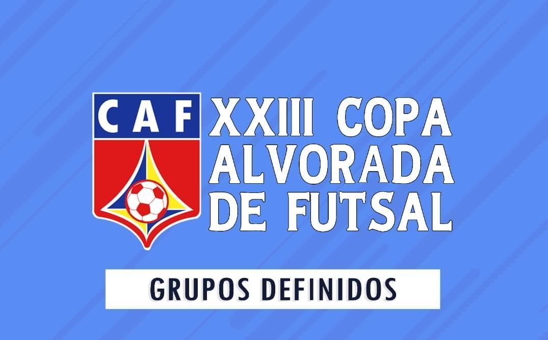 Sorteio define confrontos da 23ª Copa Alvorada de Futsal (CAF-2020)