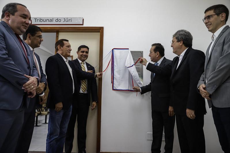 Presidente do TJAM reinaugura Fórum de Presidente Figueiredo, que passou por obras de revitalização