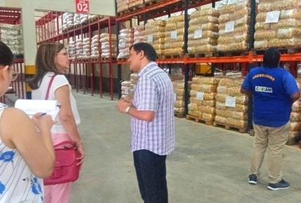 MPAM realiza inspeção no CD de Alimentos para a merenda escolar
