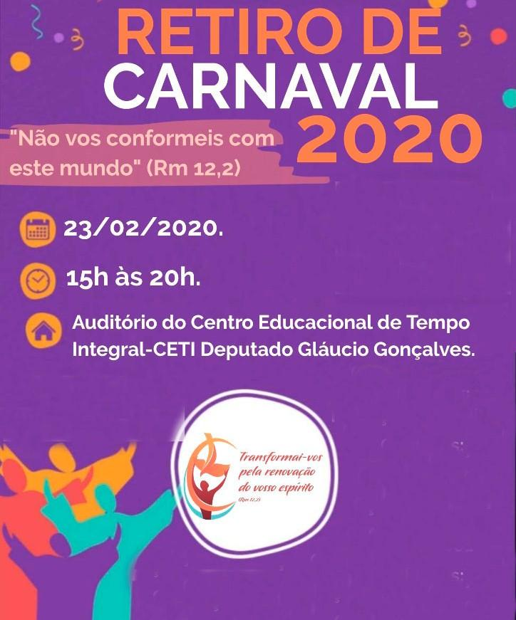 RCC da Diocese de Parintins promove encontro de Carnaval