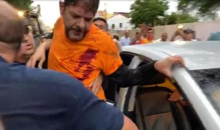 Cid Gomes é baleado em protesto de policiais no Ceará-CE