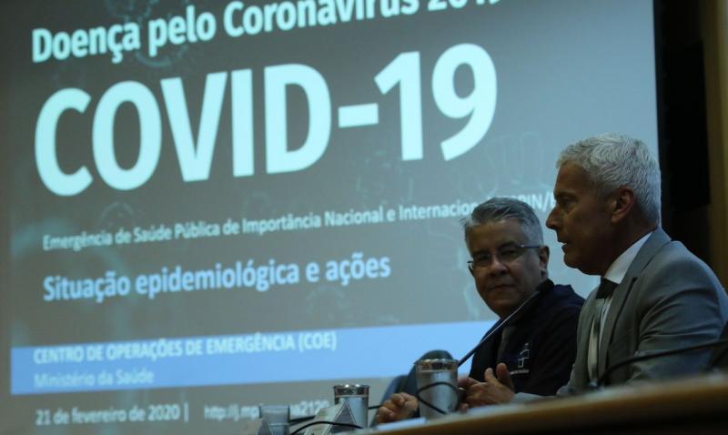 Ministério da Saúde confirma 1º caso de coronavírus no Brasil