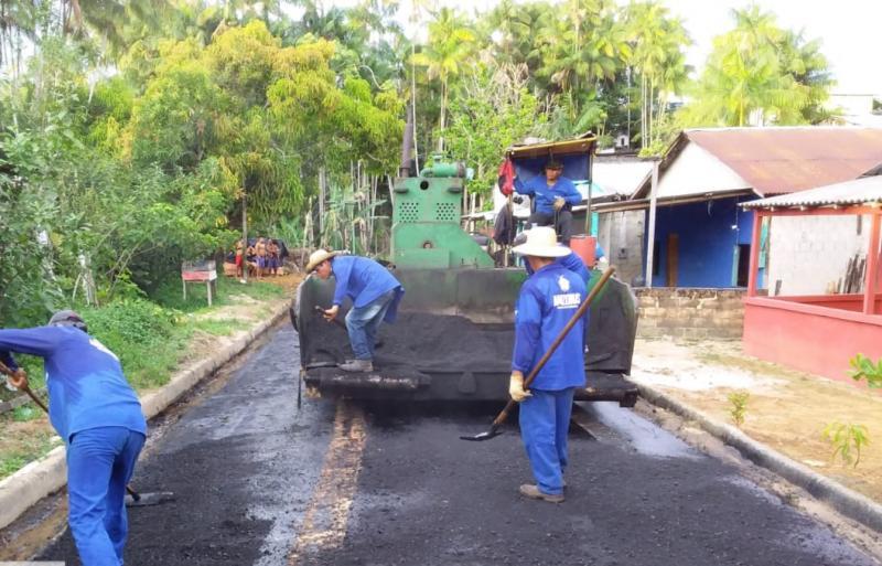 Governo do Amazonas avança com obras no sistema viário de São Gabriel da Cachoeira
