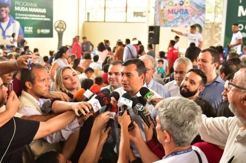 Wilson Lima confirma vinda do presidente do Senado a Manaus para discutir modelo Zona Franca
