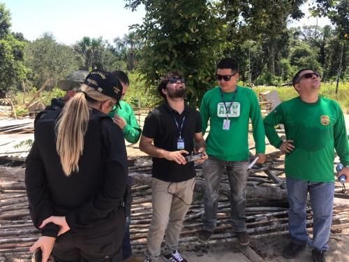 Equipe técnica da Sema inicia mapeamento para identificar impactos ambientais no Monte Horebe
