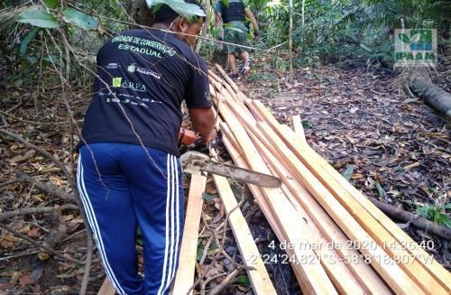 Ipaam realiza operação Uatapu II na RDS do Uatumã