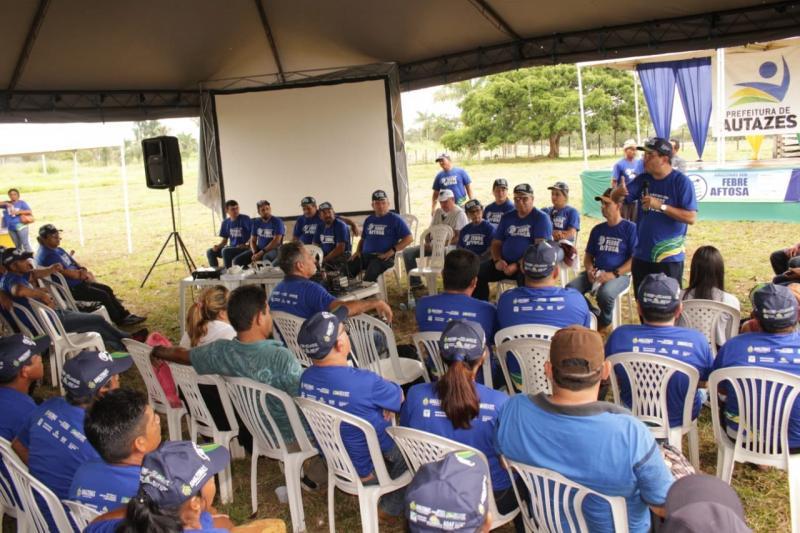 Governo do Amazonas lança oficialmente campanha contra febre aftosa em Autazes